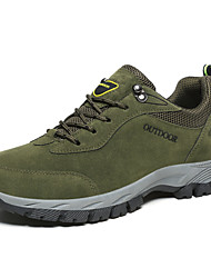 cheap -Men's Hiking Shoes Lightweight Breathable Anti-Slip Sweat-wicking Low-Top Hiking Climbing Travel Autumn / Fall Summer Brown Dark Grey Army Green