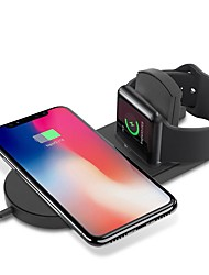 cheap -Cwxuan Wireless Charger with USB Cable QC 3.0 Quick Charger for Apple Watch 4/3/2/1 / iPhone XS / Max / XR / X / 8 / Plus