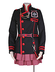 cheap -Inspired by D.Gray-man Linali Lee Anime Cosplay Costumes Japanese Cosplay Suits Art Deco / Simple Skirts / Top / Costume For Men's / Women's
