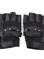 cheap -Half-finger All Motorcycle Gloves Breathable Mesh / Sheepskin Breathable / Keep Warm