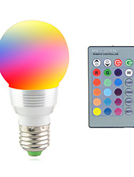 cheap -2 W LED Stage Lights 2700-7000 lm E14 E26 / E27 1 LED Beads High Power LED Remote-Controlled Decorative RGB 85-265 V / 1 pc / RoHS / CCC