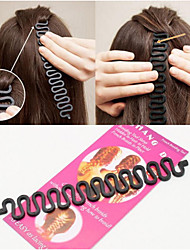 cheap -Headdress / Hair Tool Plastic Accessory Kits Decorations Easy to Carry / Best Quality 5 pcs Daily Fashion