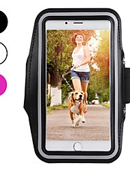 cheap -Case For Apple iPhone XS / iPhone XR / iPhone XS Max Sports Armband / Shockproof / Dustproof Armband Solid Colored Soft Carbon Fiber