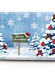 cheap -MacBook Case Oil Painting Tree / Christmas PVC for Air Pro Retina 11 12 13 15 Laptop Cover Case for Macbook New Pro 13.3 15 inch with Touch Bar