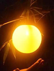 cheap -BRELONG Solar Outdoor Waterproof Spherical Flame Lamp 1 pc