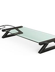 cheap -LITBest Laptop Table Desk Glass with USB Ports Fan
