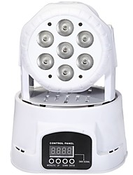 cheap -Stage Lighting LED7 Four-in-one small Moving Head Light LED Full Color Par Light Beam Light KTV Laser Light Wedding Moving Head Light Bar Light