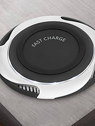 cheap -Wireless Charger USB Charger USB Qi 1 USB Port 2.1 A DC 9V for iPhone X / iPhone 8 Plus / iPhone 8
