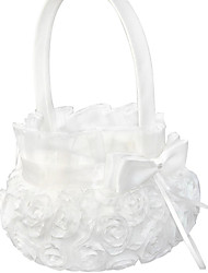"cheap -Flower Basket Polyester 4 1/3"" (11 cm) Floral 1 pcs"