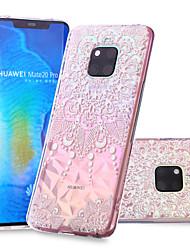 cheap -Case For Huawei Huawei Nova 3i / Huawei P smart / Huawei P Smart Plus Pattern Back Cover Mandala Soft TPU