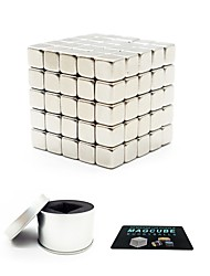 cheap -125 pcs 5mm Magnet Toy Magnetic Balls Magnet Toy Building Blocks Super Strong Rare-Earth Magnets Neodymium Magnet Magnetic Square Shaped Stress and Anxiety Relief Office Desk Toys Relieves ADD, ADHD