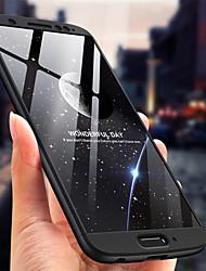 Недорогие -Кейс для Назначение Motorola MOTO G6 Защита от удара / Матовое Кейс на заднюю панель Однотонный Твердый ПК
