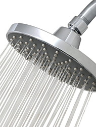 cheap -Bathroom OEM Shower ABS 6 inch Simple Low Pressure Shower Head Silvery Modern Simplicity of Electroplating Top Spray Shower