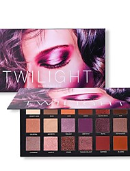 cheap -18 Colors Eyeshadow Palette Matte Shimmer EyeShadow Matte Shimmer Glitter Shine lasting smoky Daily Makeup Halloween Makeup Party Makeup Cosmetic Gift