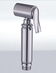 cheap -Bidet Faucet ElectroplatedToilet Handheld bidet Sprayer Self-Cleaning Contemporary / Single Handle One Hole