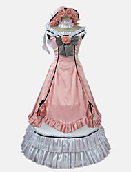 cheap -Inspired by Black Butler Charles Grey Anime Cosplay Costumes Japanese Dresses Anime Bowknot Sleeveless Bow Hat Neckwear For Women's / Satin