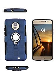 Недорогие -Кейс для Назначение Motorola Moto X4 / Moto E4 Plus / Moto E4 Защита от удара / Защита от пыли / Защита от влаги Кейс на заднюю панель Однотонный Мягкий ТПУ