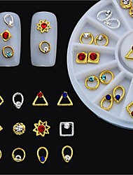 cheap -1 pcs Multi Function Metal Alloy Nail Jewelry For Creative nail art Manicure Pedicure Christmas / Daily Fashion