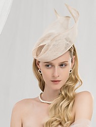 cheap -100% Linen Headbands with Solid 1pc Wedding / Party / Evening Headpiece