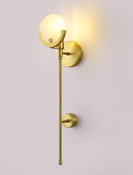 cheap -Creative Modern / Contemporary Wall Lamps & Sconces Bedroom / Study Room / Office Metal Wall Light IP44 110-120V / 220-240V 40 W