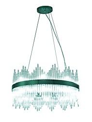 Недорогие -VALLKIN 60 cm Регулируется Люстры и лампы Металл Стекло Круглый Электропокрытие LED / Modern 110-120Вольт / 220-240Вольт