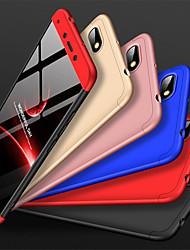 Недорогие -Кейс для Назначение Xiaomi Redmi 6A Защита от удара / Матовое Кейс на заднюю панель Однотонный Твердый ПК
