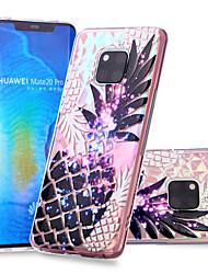 cheap -Case For Huawei Huawei Nova 3i / Huawei P smart / Huawei P Smart Plus Pattern Back Cover Fruit Soft TPU