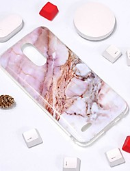 cheap -Case For LG LG V30 / LG K10 2018 / LG K10 (2017) Pattern Back Cover Marble Soft TPU