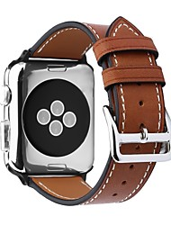 cheap -Calf Hair Watch Band Strap for Apple Watch Series 4/3/2/1 Black / Brown / Pink 23cm / 9 Inches 2.1cm / 0.83 Inches