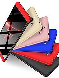 Недорогие -Кейс для Назначение Nokia Nokia 7 Plus Защита от удара / Матовое Кейс на заднюю панель Однотонный Твердый ПК