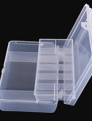 cheap -Fishing Bucket & Container Tackle Box Easy to Carry 2 Trays PP / Sea Fishing / Fly Fishing / Bait Casting / Ice Fishing / Spinning