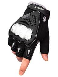 cheap -Half-finger Men's Motorcycle Gloves Breathable Mesh Wearproof / Protective / Non Slip