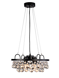 cheap -4-Light Post-modern Light Crystal Chandelier Living Room Lighting Simple American style luxury dining room lighting
