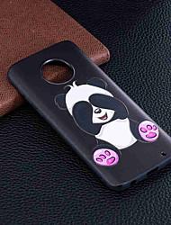cheap -Case For Motorola MOTO G6 / Moto G6 Plus / Moto G5 Plus Pattern Back Cover Panda Soft TPU