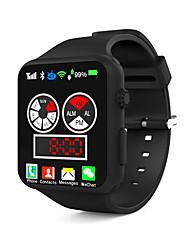 cheap -Women's Wrist Watch Quartz Silicone Black / White / Blue 30 m Water Resistant / Waterproof Creative LCD Digital Fashion - Red Green Blue
