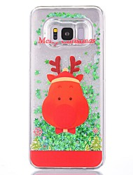 cheap -Case For Samsung Galaxy S8 Plus / S8 Glitter Shine Back Cover Christmas Hard Plastic