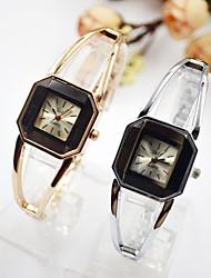 cheap -Women's Dress Watch Wrist Watch Quartz Black Casual Watch Imitation Diamond Analog Ladies Elegant Minimalist - Black