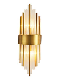 cheap -Crystal Simple Wall Lamps & Sconces Shops / Cafes Office Metal Wall Light IP65 220-240V 40 W / E14