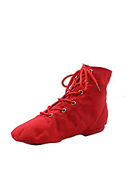 cheap -Women's Dance Shoes Jazz Shoes / Ballroom Shoes / Line Dance Boots Split Sole Black / White / Red / EU43