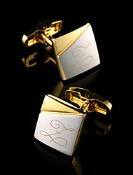 cheap -Personalized Copper Cufflinks Groom / Groomsman Wedding / Event / Party -