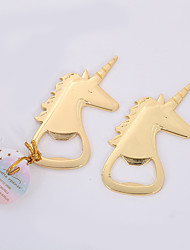 cheap -Non-personalized Chrome Bottle Openers Unicorn / Creative / Wedding Bottle Favor