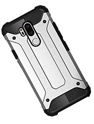 cheap -Case For LG LG V40 / LG G7 / LG G6 Shockproof Back Cover Armor Hard PC