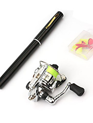 cheap -Fly Rod Mini Rod / Pen Rod Iso Rod Iso Rod Antiskid Full Coverage Heavy (H) Sea Fishing Fly Fishing Ice Fishing / Trolling & Boat Fishing