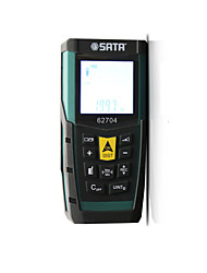 cheap -SATA 62704 0.05~60M Laser distance meter / Infrared distance meter Handheld / Easy to Use / Backlit display for furniture installation / for smart home measurement / for engineering measurement