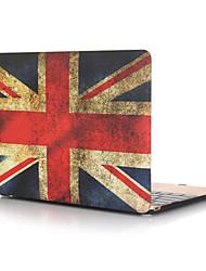 cheap -MacBook Case Oil Painting National Flag PVC for Macbook Pro Retina Air 11 12 13 15 Laptop Cover Case for Macbook New Pro 13.3 15 inch with Touch Bar
