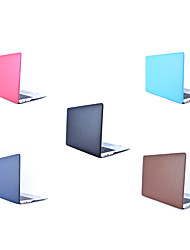 cheap -MacBook Case Solid Colored PU Leather / Genuine Leather / PVC(PolyVinyl Chloride) for New MacBook Pro 15-inch / New MacBook Pro 13-inch / Macbook Pro 15-inch