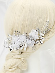 cheap -Alloy Hair Combs with Crystal / Rhinestone 1pc Wedding / Special Occasion / Birthday Headpiece