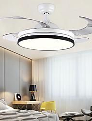 cheap -1-Light 108 cm LED Ceiling Fan Metal Mini Painted Finishes Traditional / Classic / Modern 110-120V / 220-240V