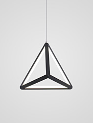 cheap -CONTRACTED LED Geometrical / Novelty Chandelier Ambient Light Painted Finishes Aluminum Adjustable, New Design 110-120V / 220-240V Warm White / Cold White