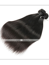 cheap -1 Bundle Brazilian Hair Straight Remy Human Hair Human Hair Extensions 8-30 inch Human Hair Weaves Soft Best Quality New Arrival Human Hair Extensions / 10A
